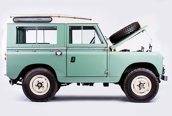 land rover series ii a 4x4 1968 - hess classic collection