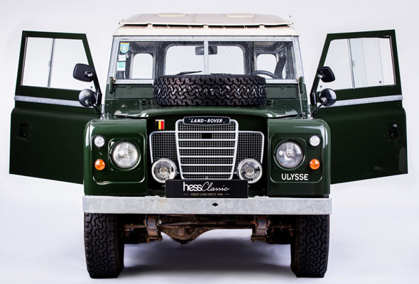 land rover serie iii 1975 vendre collection hess classic. Black Bedroom Furniture Sets. Home Design Ideas